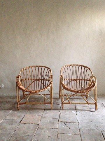 atelier vime rattan banquette. Black Bedroom Furniture Sets. Home Design Ideas