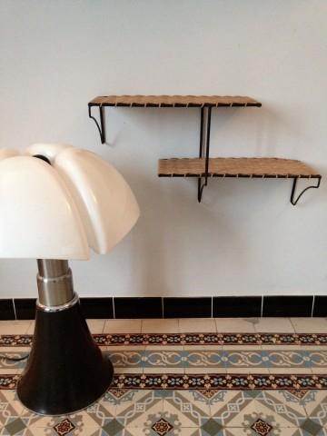 Atelier vime petite armoire en marqueterie de rotin for Etagere japonaise