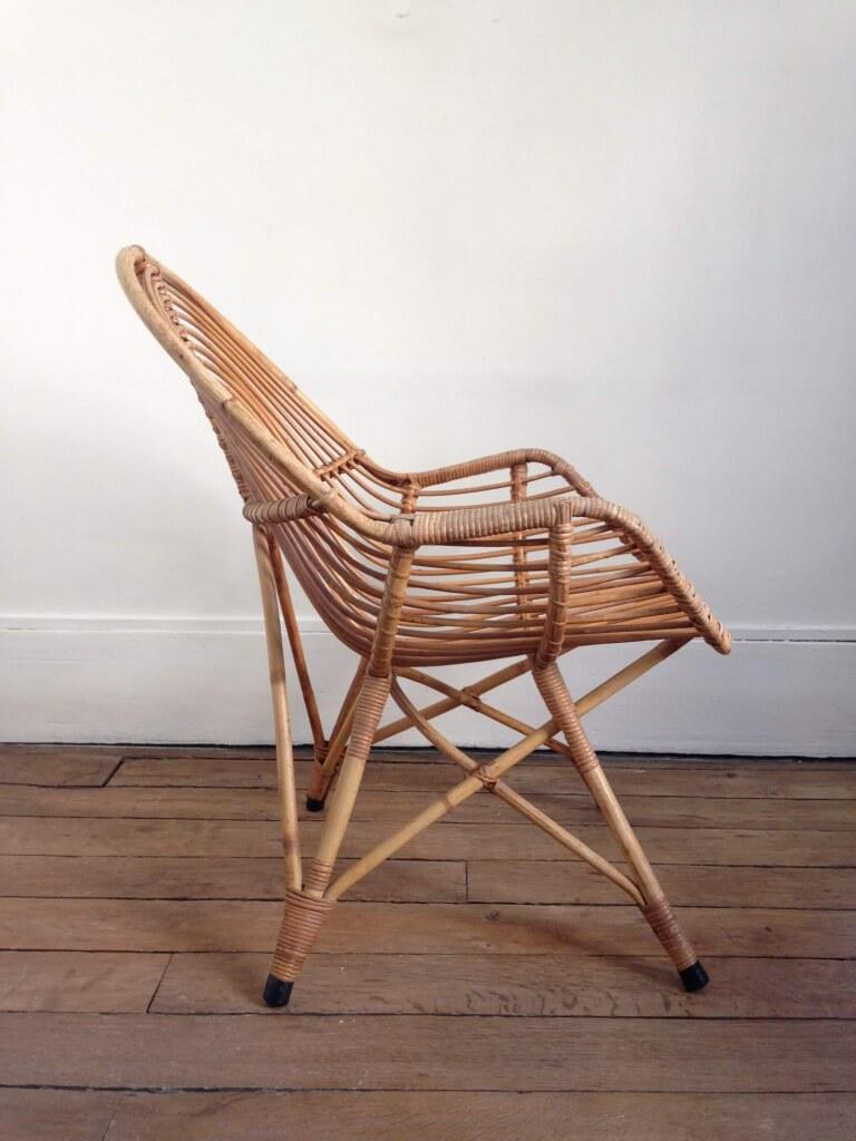 atelier vime fauteuil en rotin. Black Bedroom Furniture Sets. Home Design Ideas